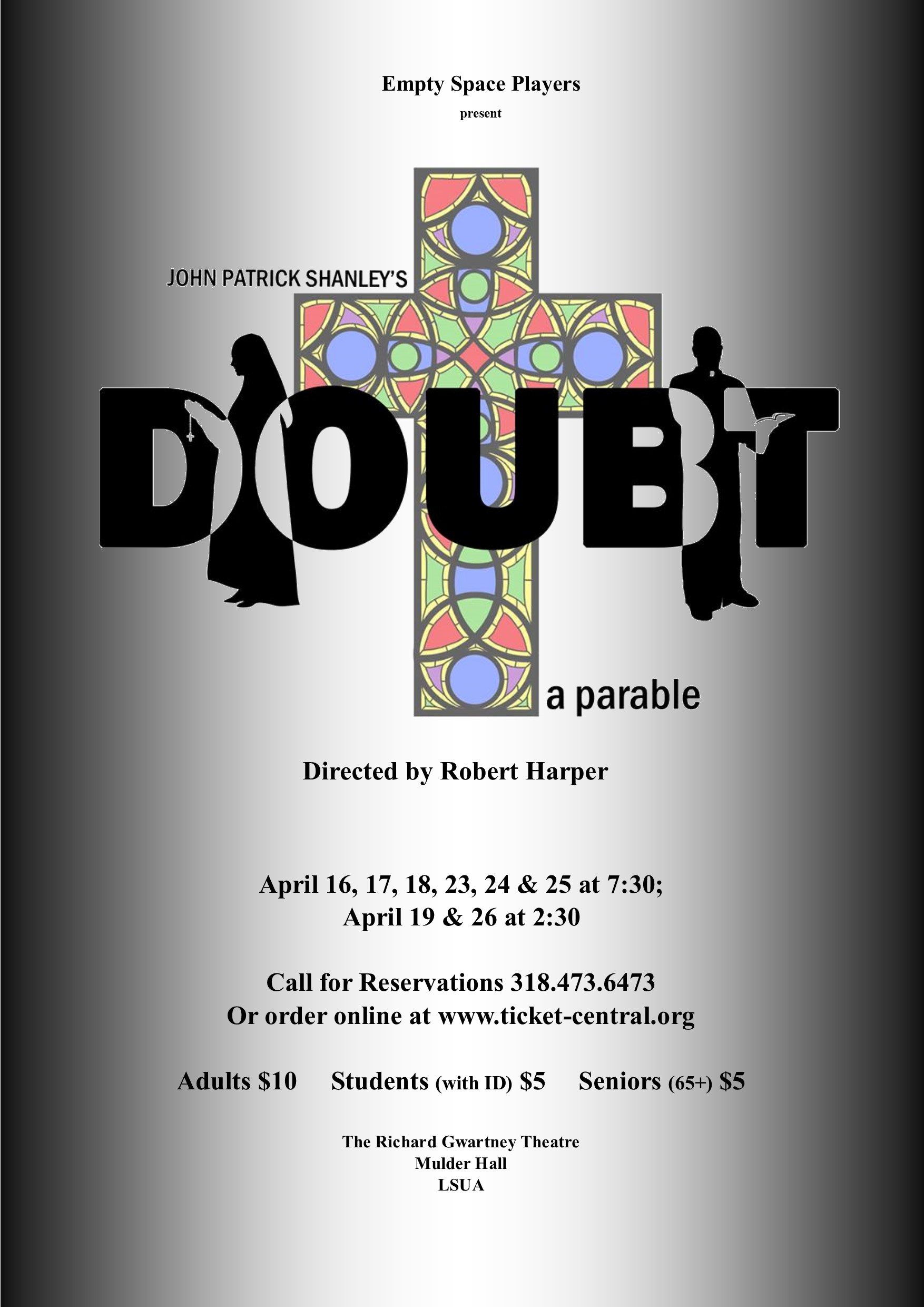 DOUBT Poster shaded